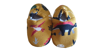 baby booties soft baby shoes premature babies 3-5lb DINO DELIGHT