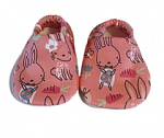 baby shoes cutest premature babies shoes size 3-5lb RUNNING BUNNY