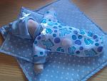 Infant boy premature baby loss clothes bereavement TOOTSIE TOES Blue born 20 weeks