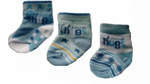 boys early tiny baby socks HUGGABLES blue 5-8lb