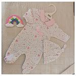 baby grows girls premature sizes 3-5lb or 5-8lb TRUE LOVE