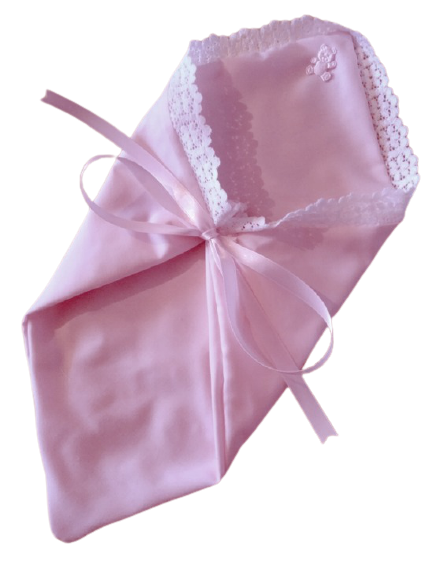 baby bereavement pouch pink for babyborn at 20 weeks