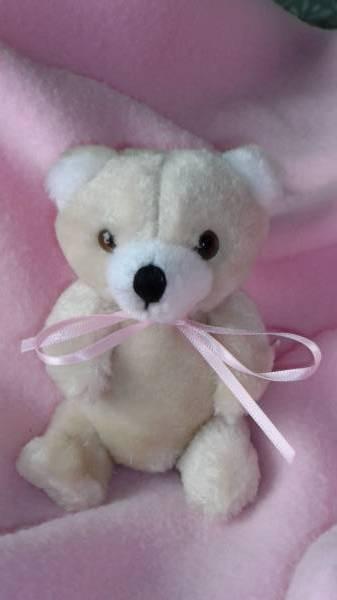 TINY teddies miscarried baby  CUDDLES Pink baby bereavement keepsake box