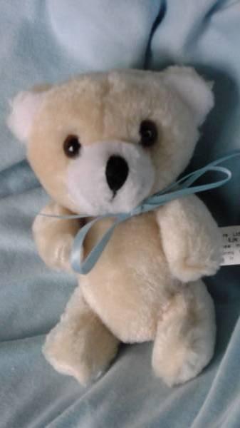 Teddybears micro teddies only 10cm Blue CUDDLES baby loss keep sake