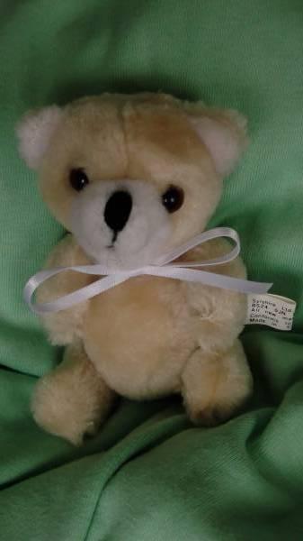 Teddy bears micro teddy 10cm White CUDDLES baby bereavement box