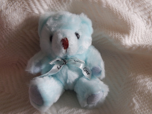 baby stillborn teddies memory box keepsake Teddy Bear LOVING YOU small 13cm