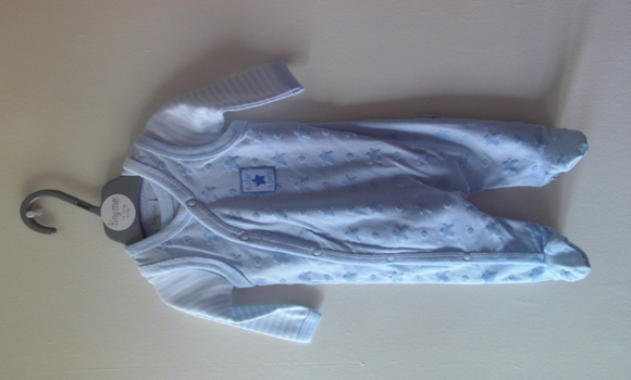 boys premature baby clothes 3 - 5 lb or 5-8lb Blue STAR IS BORN full outfit