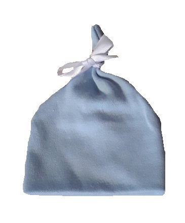 intensive care unit clothing 2-3lb tie hat blue