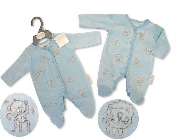 clothes for premature baby blue JUNGLE GYM 3-5lb