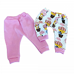 clothes for tiny babies girls 2 pair leggings ZOOM BALLOON all sizes