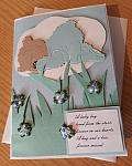 condolences card baby boy infant bereavement cards FOREVER MISSED
