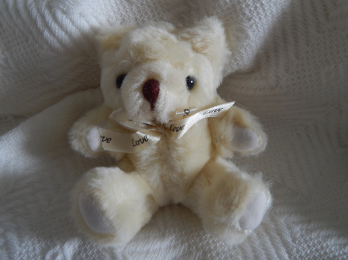 baby stillbirth teddies CREAM memory box keepsake Teddy Bear LOVING YOU 13cm