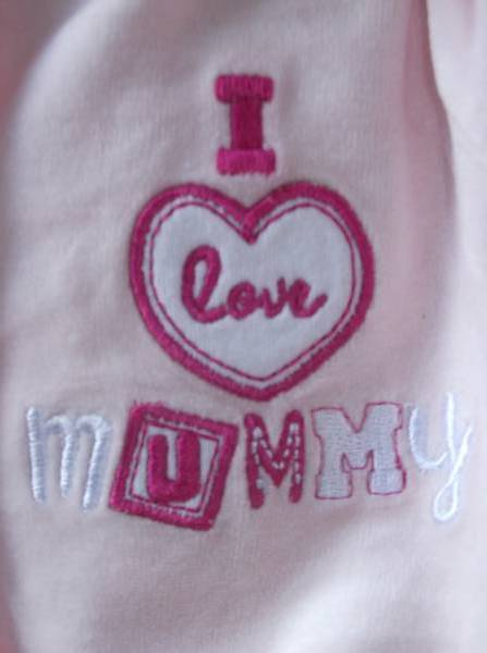girls premature clothes in 5-8lb baby sleepsuit  MUMMYS LITTLE LOVE