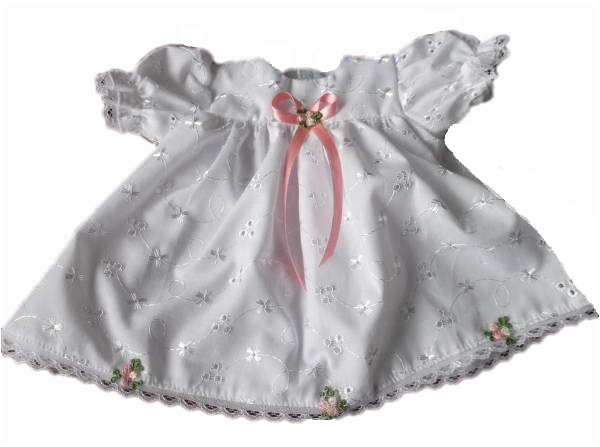 tiny babies dresses premature baby dress set ROYAL ROSE 2-3lb