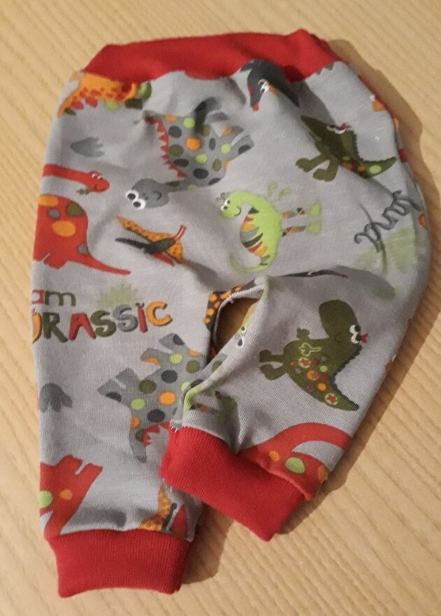 tiny baby clothes pair trousers little boys JURASSIC LAND