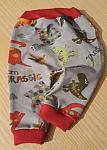 early baby clothes 2-3lb boys dinosaur pants JURASSIC LAND