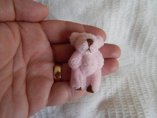 babies bereavement teddy bears baby memory box teddies THUMBERLINA in pink