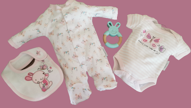 girls premature baby clothes baby outfits 3-5lb 5-8lb BUDS N BUTTERFLIES