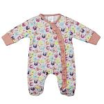 girls premature baby clothes daysuit gorgeous peach FLOWING FLOWERS 5-8lb