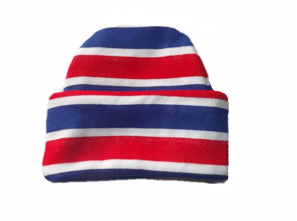 preterm baby early baby hat STRIPEY TURN UP  beanie hat 2-3lb