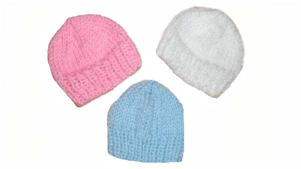 tiny baby bereavement clothes Blue Hat beanie 20 w gestation baby loss