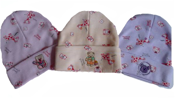 girls early baby hat BABY GIRAFFE Pink,Peach or Lilac 3-5lb