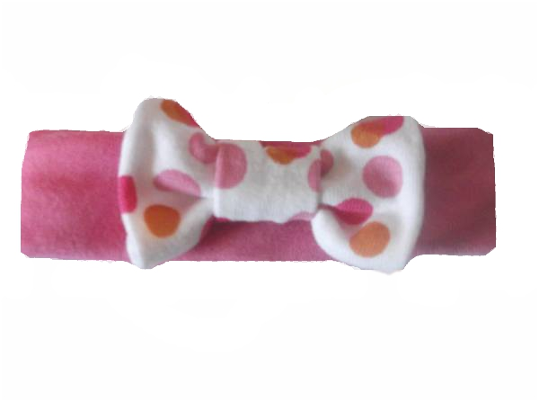 premature baby NICU headband Early Baby 3-5lb PINK bow peep