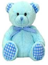 small teddies baby keepsake box gift Teddy Bear HUMBLE blue 15cm