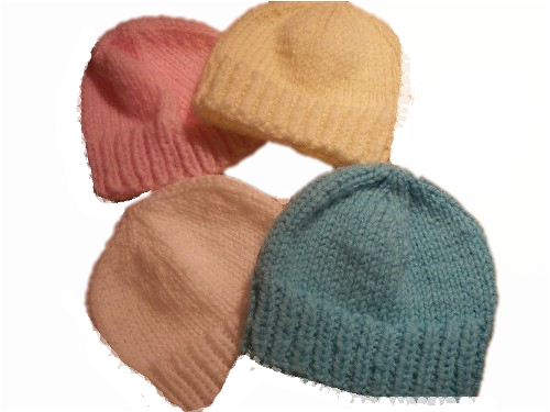 premature baby hat knitted tiny baby beanie hat all colours 1-3lb