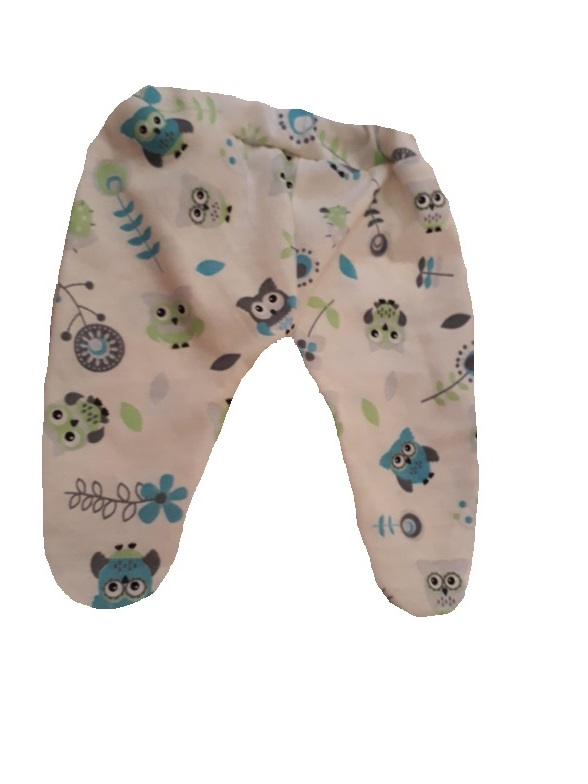 intensive care unit clothes Tiny babies OWL leggings by-Effronte Amour