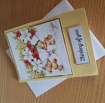condolences card baby UNISEX bear huggs miscarriage bereavement