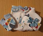 boys baby bereavement clothes stillborn  at 20 weeks LOCO MOTION