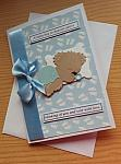 boys baby bereavement cards baby loss card sympathy LOTS OF LOVE blue