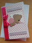 infant sympathy bereavement cards miscarriage baby loss condolence LOTS OF LOVE  girls