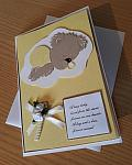condolences card baby UNISEX babies bereavement cards online FOREVER MISSED