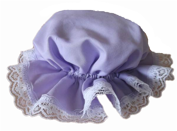 premature Baby MOP Hats tiny baby 3lb - 5lb+ sun hat LILAC by Titch
