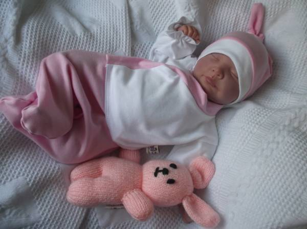 GIRLS premature baby clothing Tiny Baby outfit SWANKY BABE Pink 3-5lb