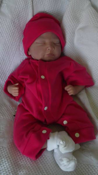Girls tiny premature baby clothes outfit WINTER WONDERLAND colours 3-5lb