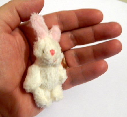 Micro Teddies soft cuddly toy BLISSFUL BUNNY baby loss memory box gift 6cm