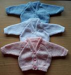bereavement clothes girls STRAWBERRY PINK Cardigan born 23-25weeks