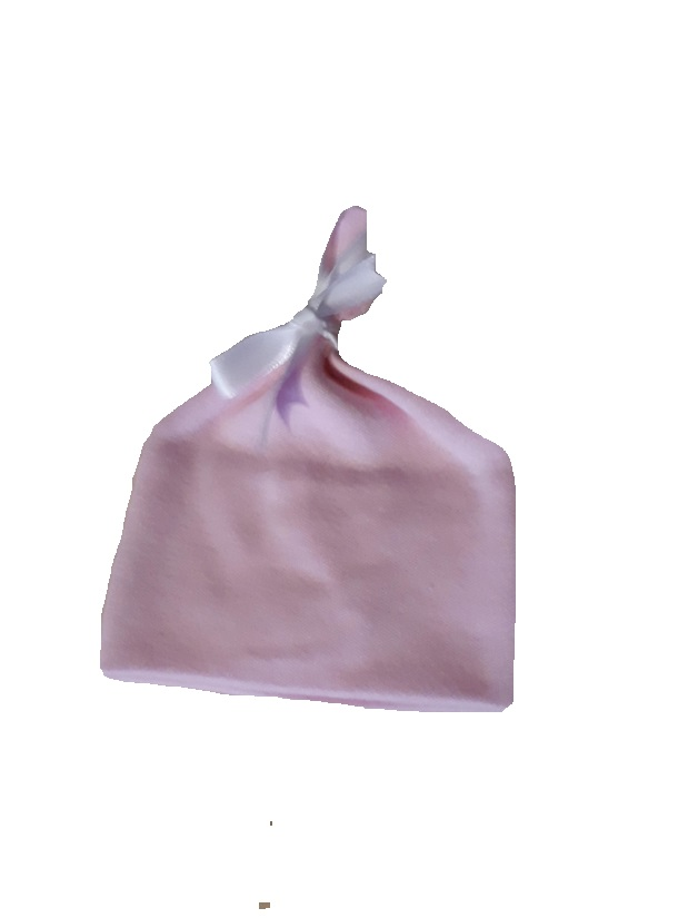 intensive care unit clothing 2-3lb tie hat pink