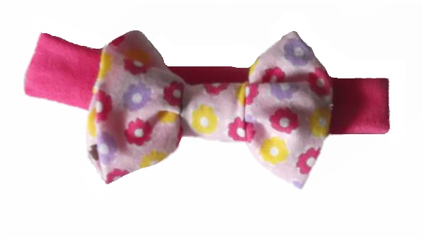 premature baby clothes Cute headband POCKETFUL POSIES Early Baby 3-5lb PINK