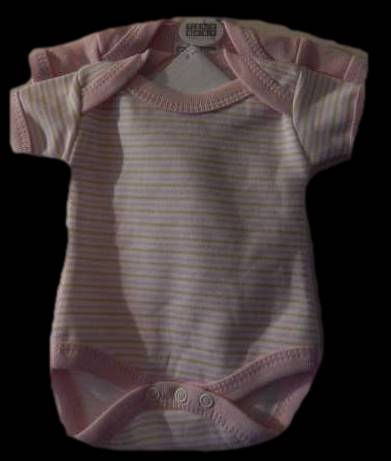premature baby clothes babies vests pack 2 pink stripe bodyvests 3-5lb