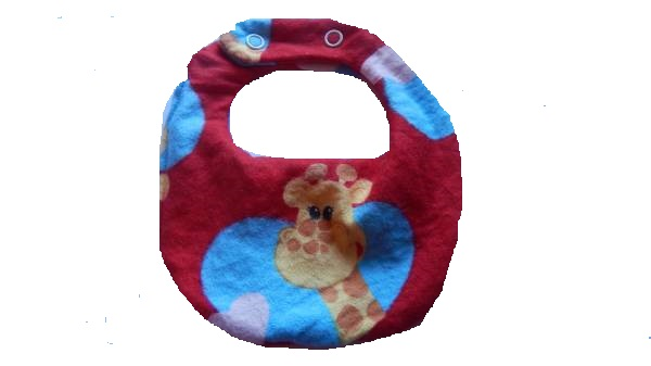 premature accessories bibs tiny 3-5lb GOODY GIRAFFE bib