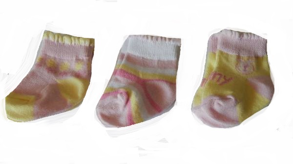 pretty Girl Prem baby socks SUMMER GARDEN 3-5LB small sizes