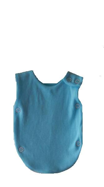 Preterm premature babies clothes NICU vest 2-3lb size OCEAN BLUE