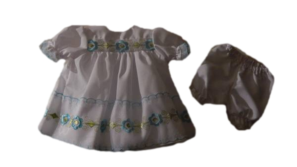 dresses premature baby clothes tiny baby bereavement dress FINEST FLOWERS 2-3lb