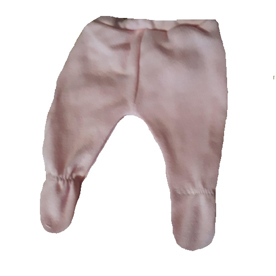 intensive care unit clothes baby leggings 2-3lb pink