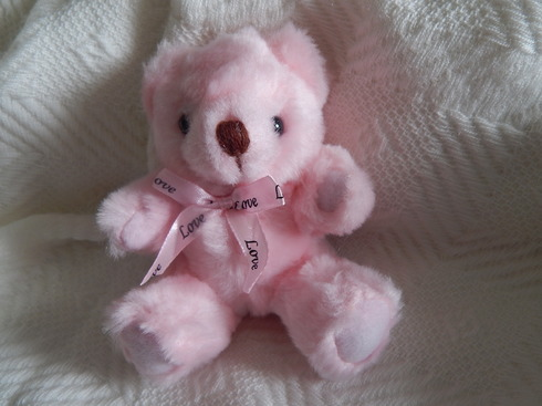 baby stillbirth teddies PINK memory box keepsake Teddy Bear LOVING YOU 13cm