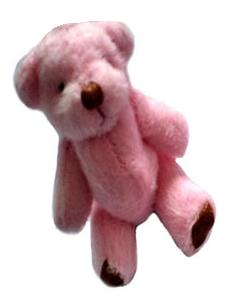 smallest teddy bear babies bereavement POPPY 4.5 CM memory box